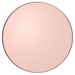 Circum spegel L, rose