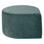 Stilla sittpuff, dusty green