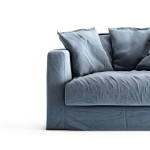 Le Grand Air Loveseat klädsel, Dusky Gloom