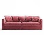 Le Grand Air 3-sitssoffa, Rosewood Linen