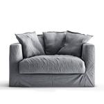 Le Grand Air Loveseat, Foggy Morning