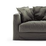 Le Grand Air Loveseat sammet klädsel, Roebuck
