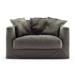 Le Grand Air Loveseat sammet, Roebuck