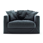 Le Grand Air Loveseat sammet, Graphite