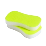 Neon sponge svamp 2-pack, fl.yellow