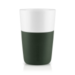 Caffe Latte mugg 2-pack, forest green