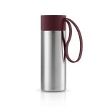 To Go Cup, dark burgundy