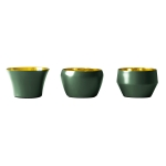 Kin ljuslykta 3-pack, dark green