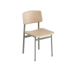 Loft chair, dusty green/ek