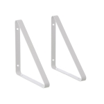 Shelf Hangers 2st, vit