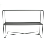 Coco Double sideboard, panther black