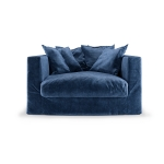 Le Grand Air Loveseat, Midnight Blue
