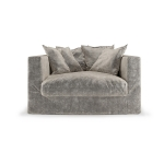 Le Grand Air Loveseat, Concrete