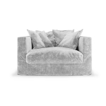 Le Grand Air Loveseat, Soft Silver