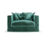 Le Grand Air Loveseat, Petrol Green
