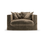 Le Grand Air Loveseat, Light Brown