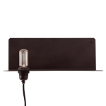 90° Wall Light lamphylla, svart