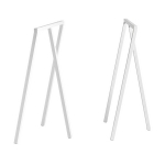 Loop Stand High bordsben 2-pack, vit