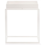 Tray table S square 34cm white