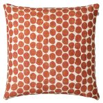 Dot Ari Linen kuddfodral 50x50, orange
