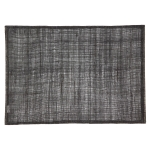 Linen bordstablett 45x32 cm, black