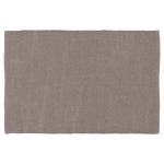 PET matta 90x60 cm, plain grey