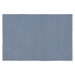 PET matta 90x60 cm, plain dusty blue