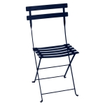 Bistro Metal stol, deep blue
