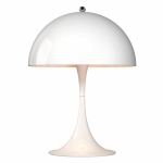 Panthella Mini bordslampa, vit