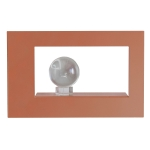 Frame Wide tavelram, dusty pink