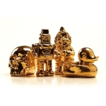 Goldies Robot skulptur