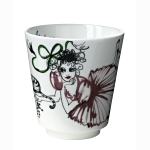 Mademoiselle Backgammon mugg