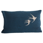 Flying Birds kuddfodral, bl�