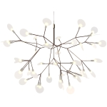 Heracleum taklampa small, nickel