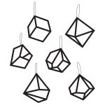 Mobile ornament, 6 pack