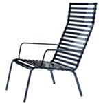 Striped Poltroncina loungestol h�g