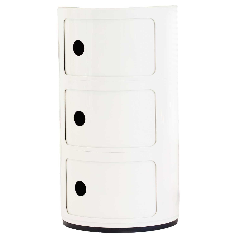 kartell bord Componibili 3 fack, vit från Kartell – Köp online på Rum21.se kartell bord