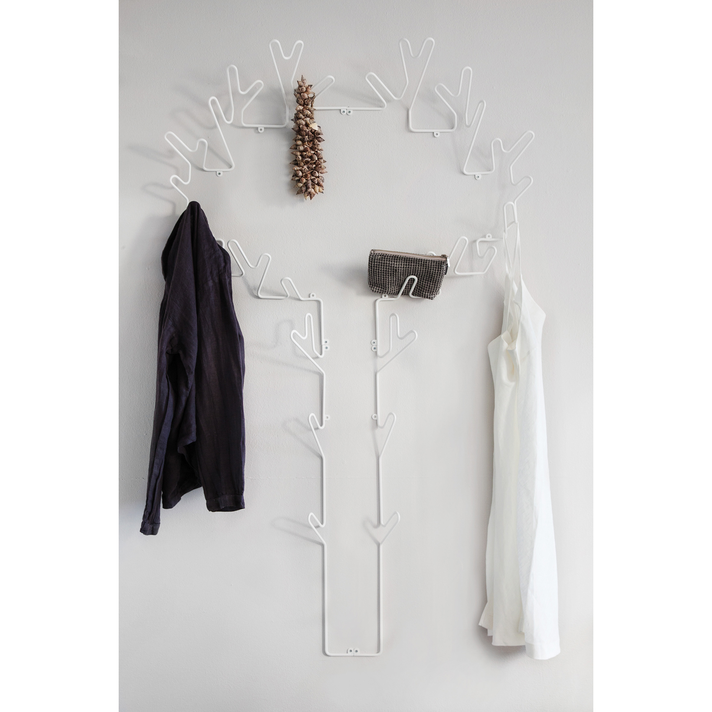 Tree hanger hängare, vit frÃ¥n maze – köp online pÃ¥ rum21.se
