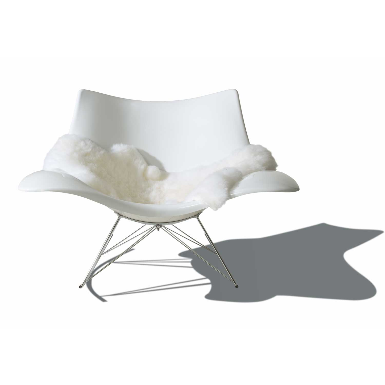 Stingray gungstol, vit fr̴n Fredericia Furniture РK̦p online p̴ ...
