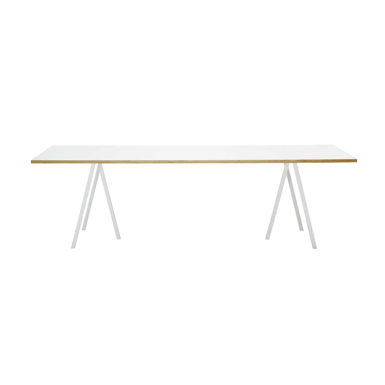 matbord hay Loop Stand Table bord 200 cm, vit från Hay – Köp online på Rum21.se matbord hay