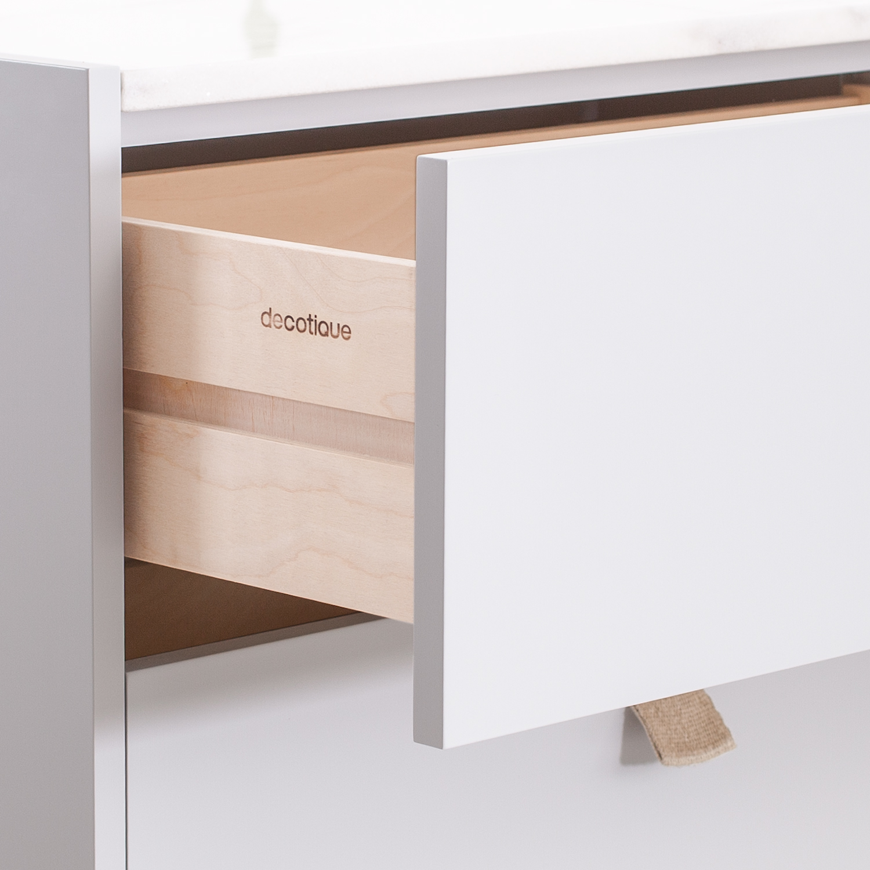 Loft byr̴ te3, ljusgr̴/vit marmor Рdecotique Рk̦p online p̴ rum21.se