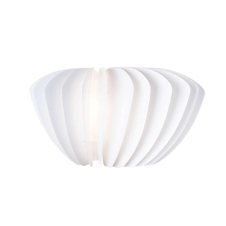 Facetta lampskärm 52 cm, vit – Vita – Köp online pÃ¥ Rum21.se