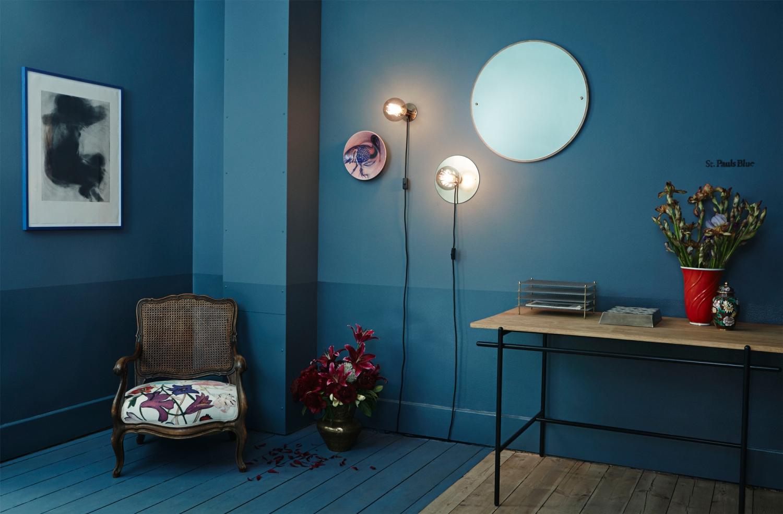 Vägglampor På Nätet : Frama e vägglampa liten brons svart köp på