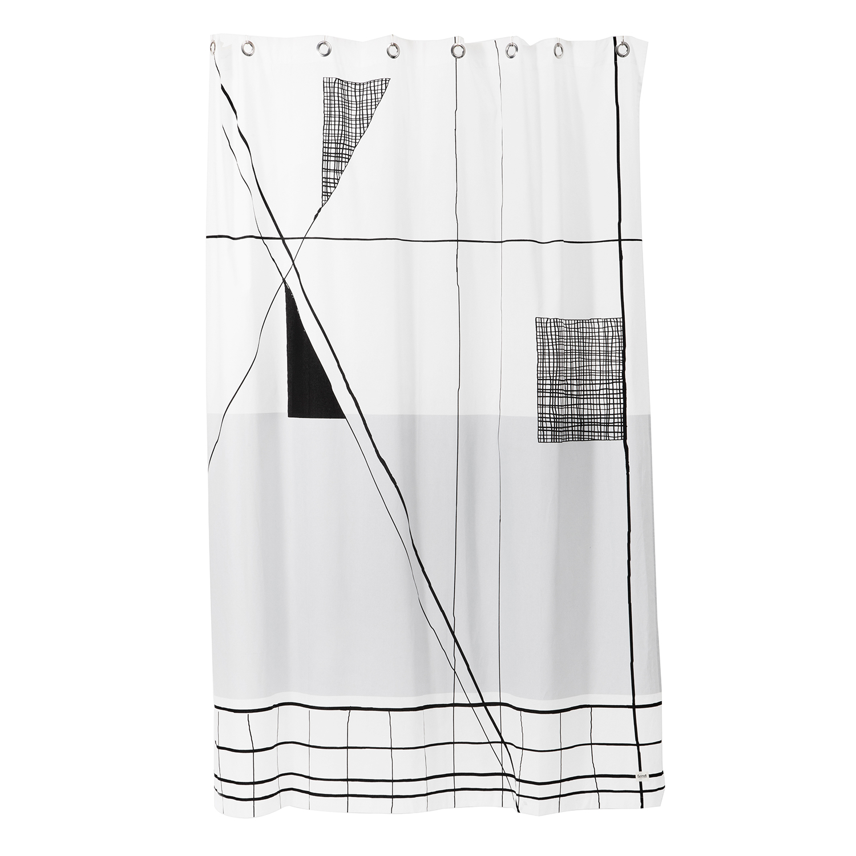 Trace duschdraperi – Ferm Living – Köp online på Rum21.se 6e440bd9c6dca