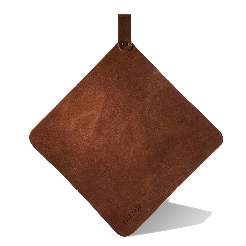 Osby grytlapp, brunt läder – Village – Köp online pÃ¥ Rum21.se