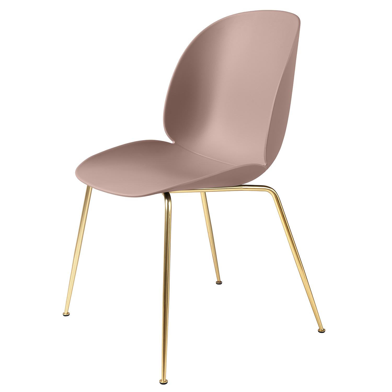gubi stol Beetle stol, mässing/ljusrosa – Gubi – Köp online på Rum21.se gubi stol