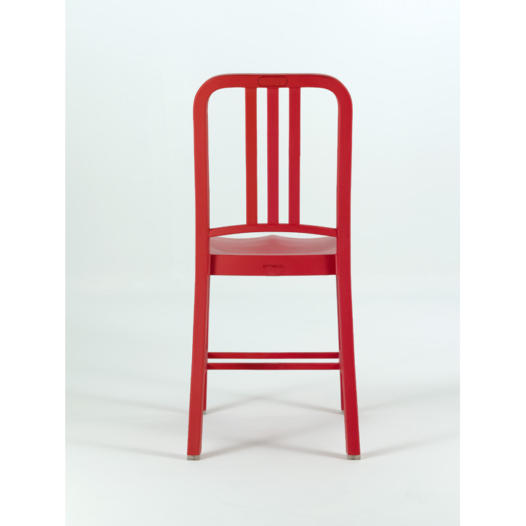 111 Navy Chair, Red