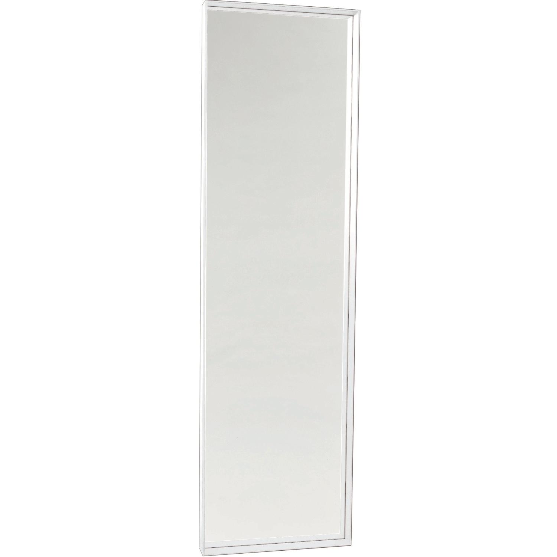 spegel vit ram