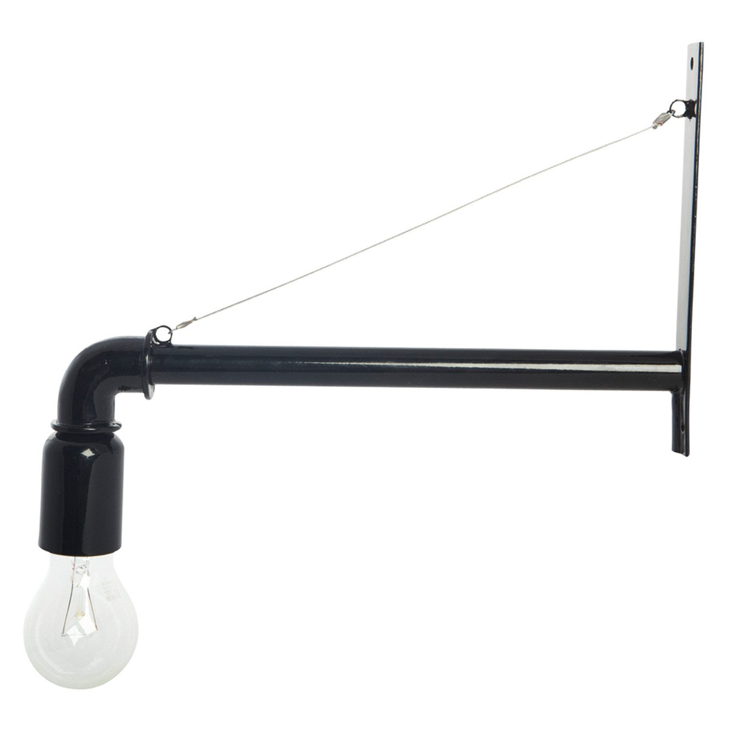 Pipe lampa, svart fr̴n house doctor Рk̦p online p̴ rum21.se