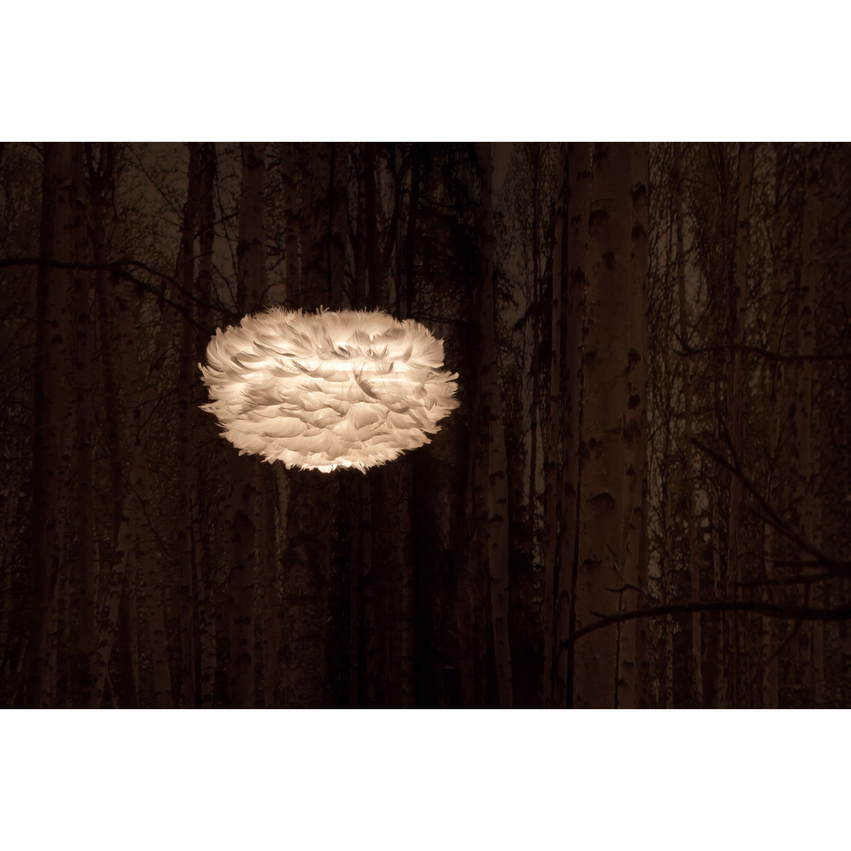 Eos fjäderlampa pendel, small – vita – köp online pÃ¥ rum21.se